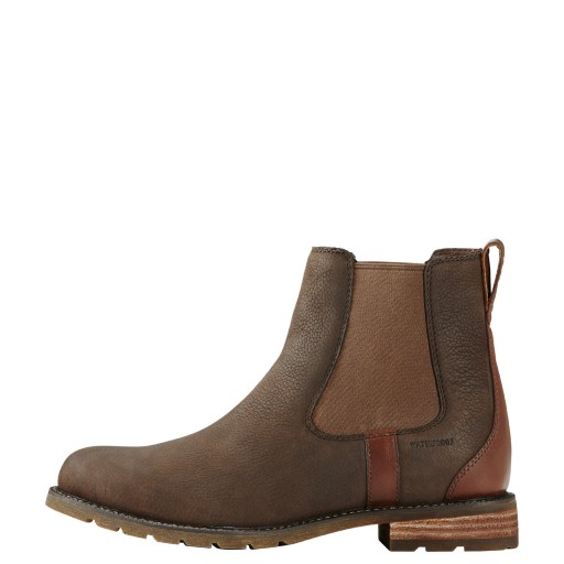 Ariat Wexford H2O Chelsea Boots Waterproof Java