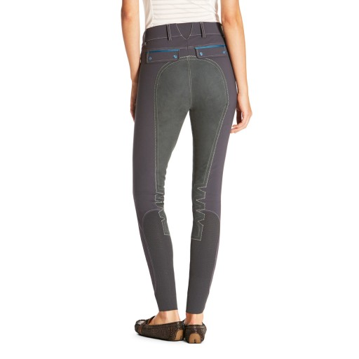 Ariat Olympia Acclaim Full Seat Women's Breeches Ebony Grey