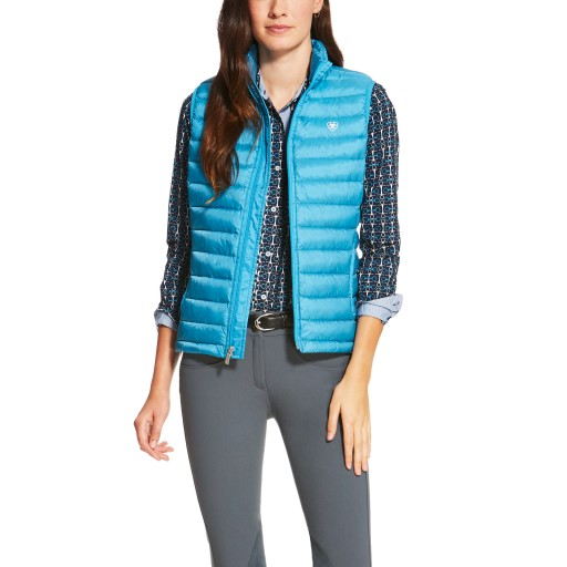 Ariat Ideal Down Vest Gilet Barrier Teal