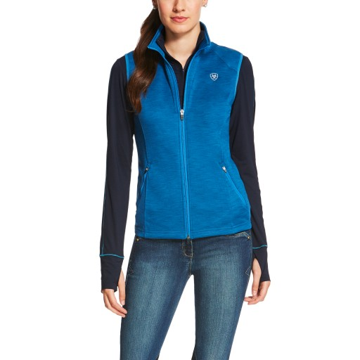 Ariat Conquest Vest Tek Gilet Rush Blue