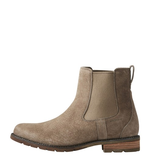 Ariat Wexford H2O Chelsea Boots Waterproof Taupe