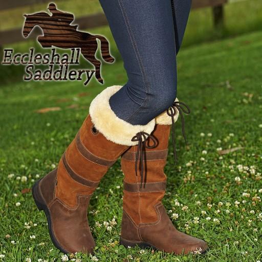 Dublin Eskimo River Fleece Boots Women's Country Boots
