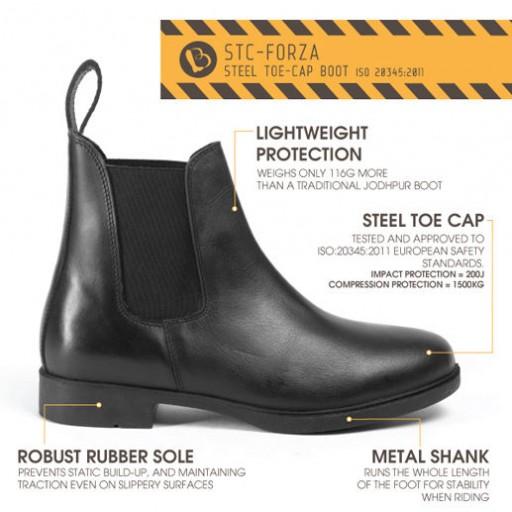 Brogini Steel Toe Cap Jodhpur Boots Was £60