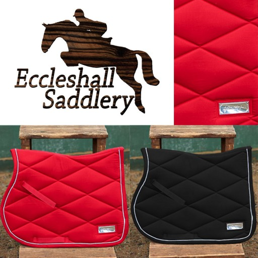 John Whitaker Signature Plaque Saddle Pad Was £30