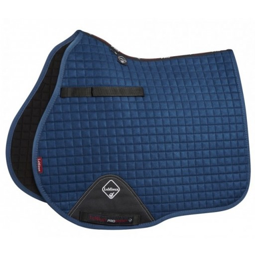Le Mieux ProSport GP Suede Square Horse Saddle Pad Midnight Blue