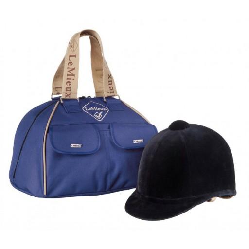 Le Mieux Hat Bag Blue