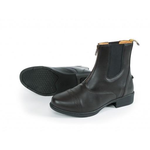 Shires Moretta Clio Zip Paddock Boots Black