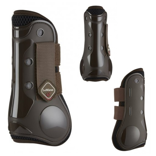 Le Mieux Derby ProJump Tendon Boots Brown Horse Jumping Boots