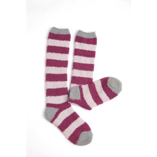 Horseware Softie Socks Berry Stripe