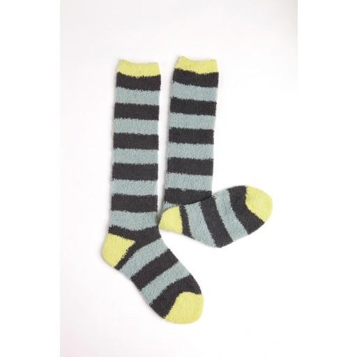 Horseware Softie Socks Pewter Stripe