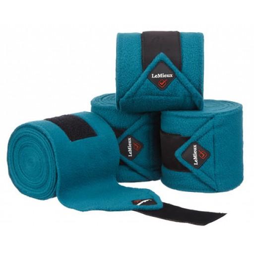 Le Mieux Luxury Polo Bandages Peacock Set of 4