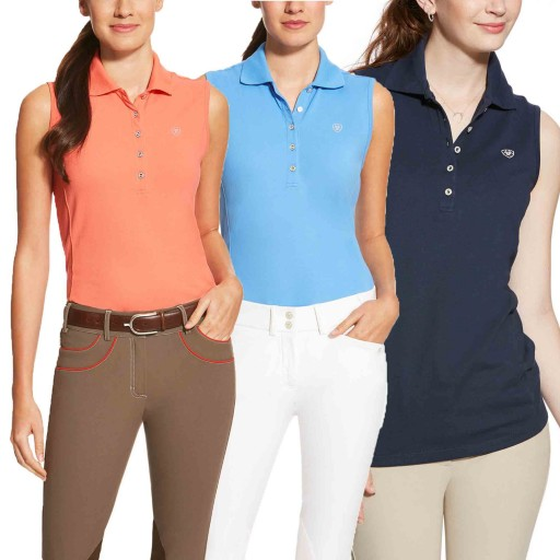 Ariat Prix Sleeveless Polo Top