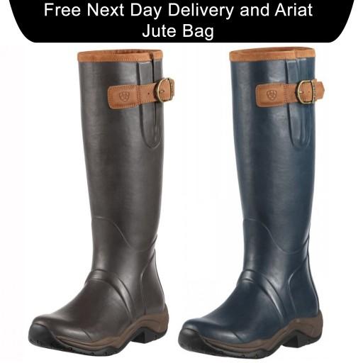 Ariat Storm Stopper Women's Wellington Boots RRP £120