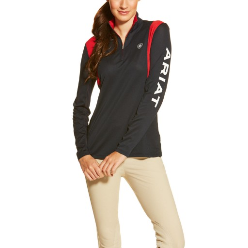 Ariat Team Sunstopper 1/4 Zip Top