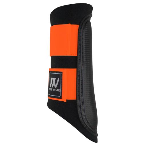 Woof Wear Club Brushing Horse Boots Black/Orange