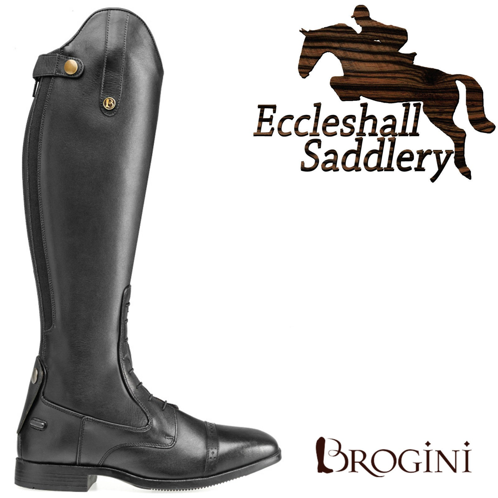 Brogini Capitoli 1412 Long Riding Boots Was £150