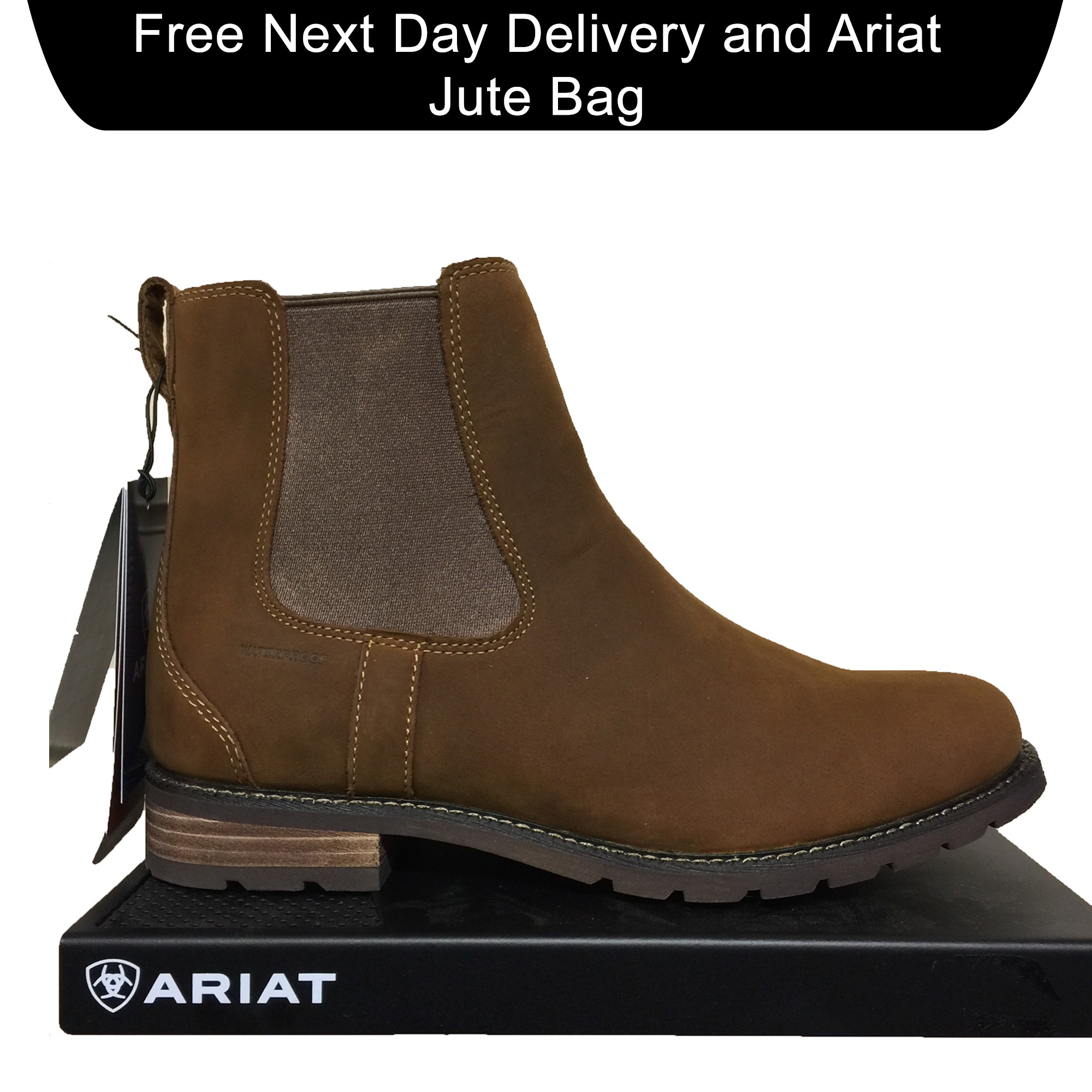 9b69afe380dd More Views. Ariat Wexford H2O Country Chelsea Boots