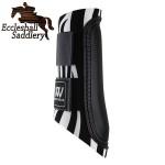 Woof Wear Club Brushing Boots Zebra Print