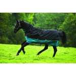 Horseware Mio All-In-One 200g Trunout Rug Black/Turquoise