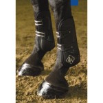 John Whitaker Elite Professional Tendon and Fetlock Set Horse Boots Black