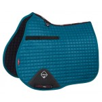 Le Mieux ProSport GP Suede Square Horse Saddle Pad Peacock Green
