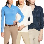 Ariat Sunstopper 1/4 Zip Top