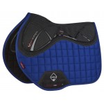 Le Mieux X-Grip Twin Sided Euro Jump Square Benetton Blue Saddle Pad