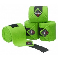Le Mieux Luxury Polo Bandages Lime Green Set of 4