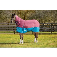 WeatherBeeta ComFiTec Essential Combo Neck Medium Weight Shiraz/Teal/Blue