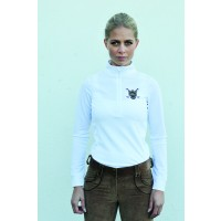 Horseware Elena Long Sleeve Technical Top White