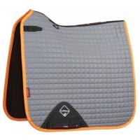 Le Mieux Hi-Visibility Dressage Square Tangerine