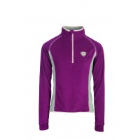 Horseware Fiona Half Zip Fleece Pullover Berry