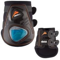 eQuick eShock Fetlock Jumping Boots Black